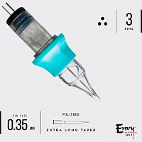 Картриджи Envy Gen2 Cartridges. Round Liner Extra Long 0,35 mm (10 шт)